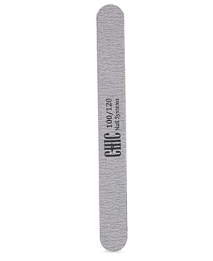 100/120 Grit Nail File - White