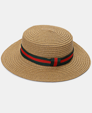 Straw Hat - Camel