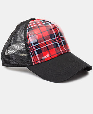 Check Cap - Red