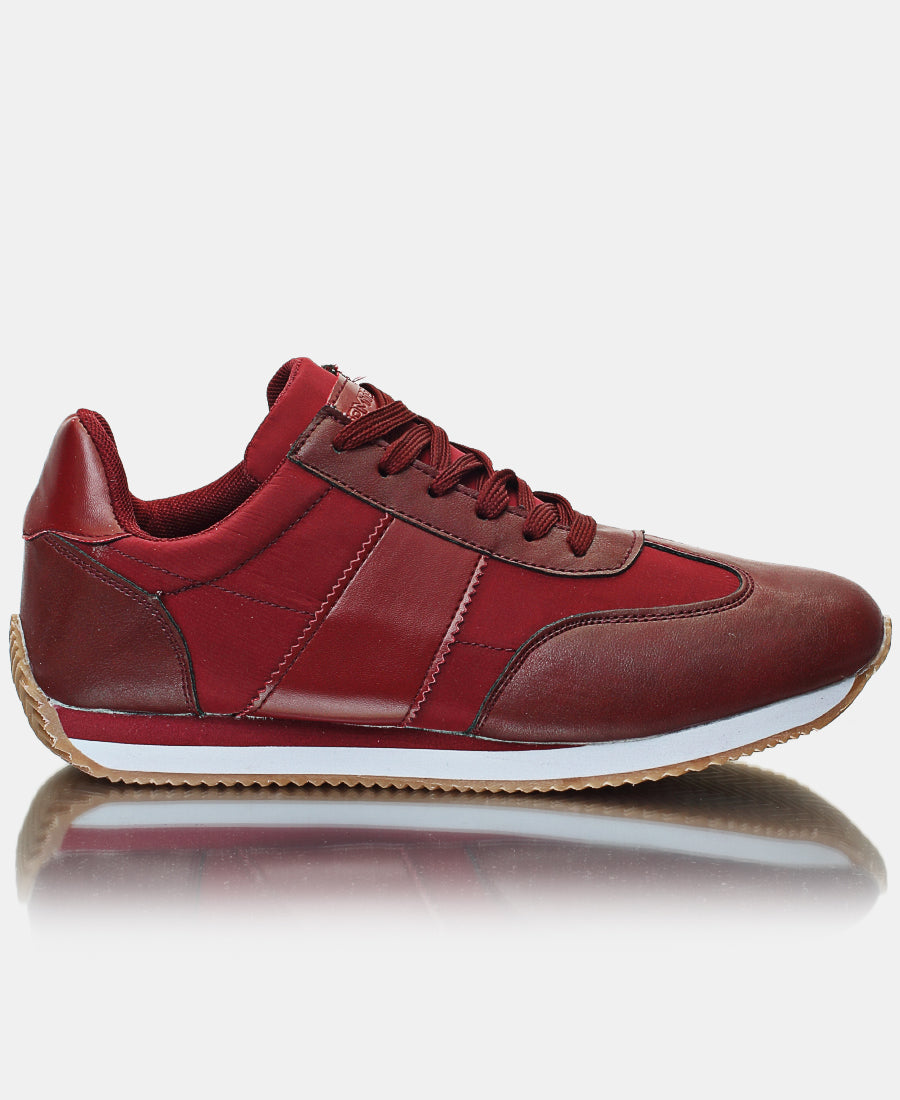 Men's Hugo Sneakers - Burgundy