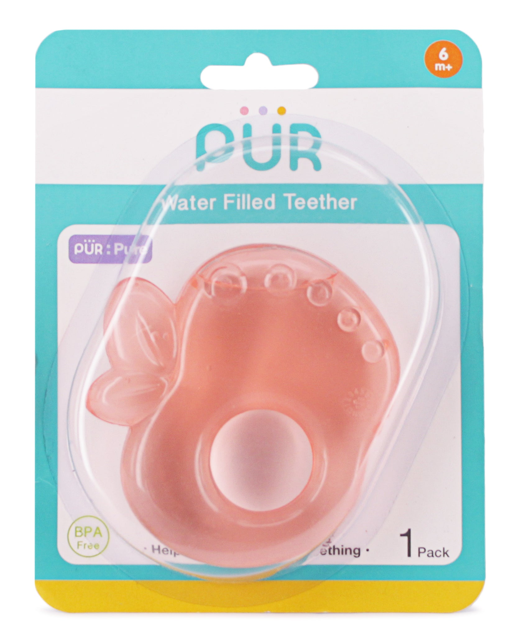 Water Filled Teether  - Pink