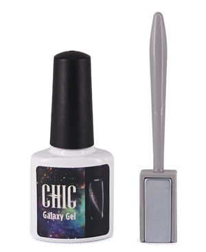 Gel Nail Polish With Buffer - Black