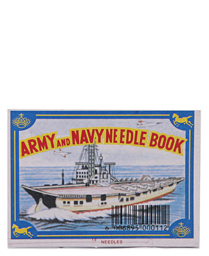 19 Pack Sewing Needles - Navy