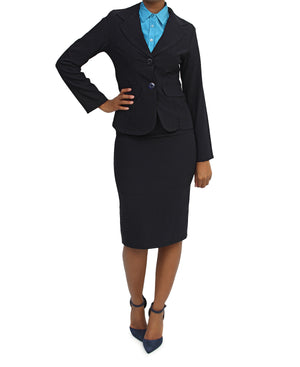 2 Piece Suit - Navy