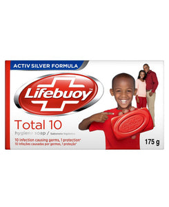 Life Buoy Total 10 175g Soap - Red