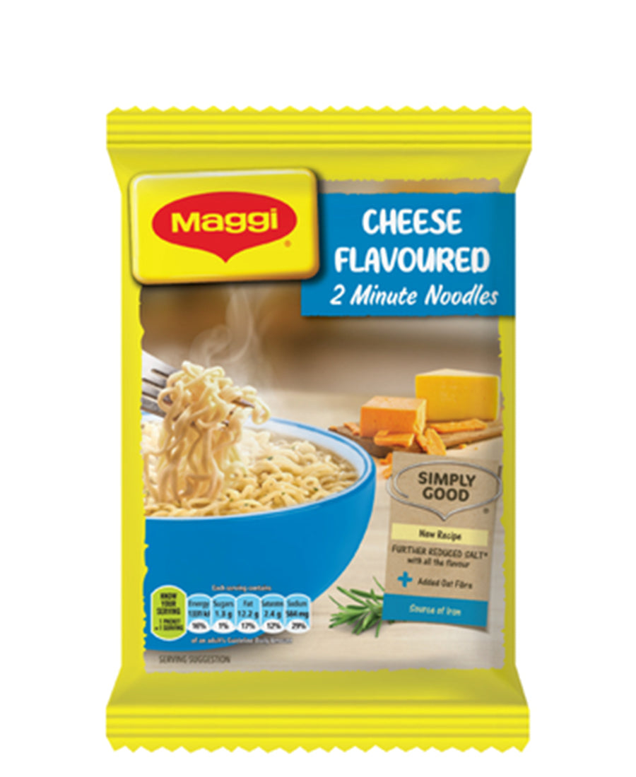 2 Minute Cheese Noodles 73g - Yellow