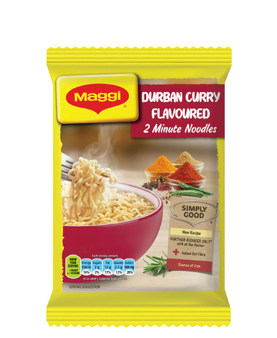 2 Minute Durban Curry Noodles 73g - Yellow