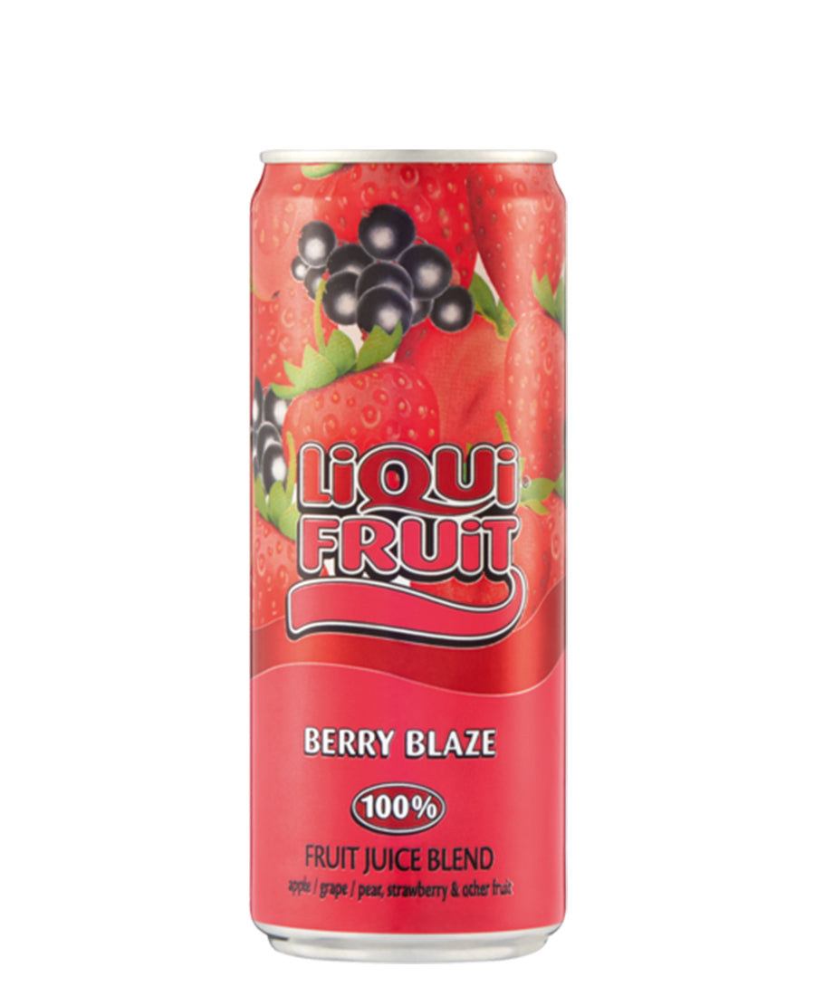 Liquifruit 330ml Berry Blaze - Red