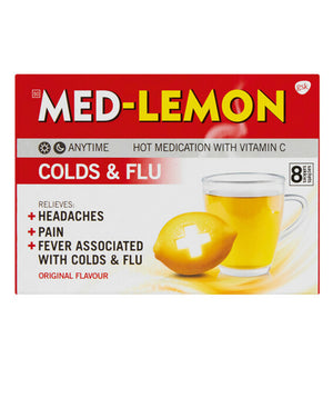 Med-Lemon Regular 8s - Red