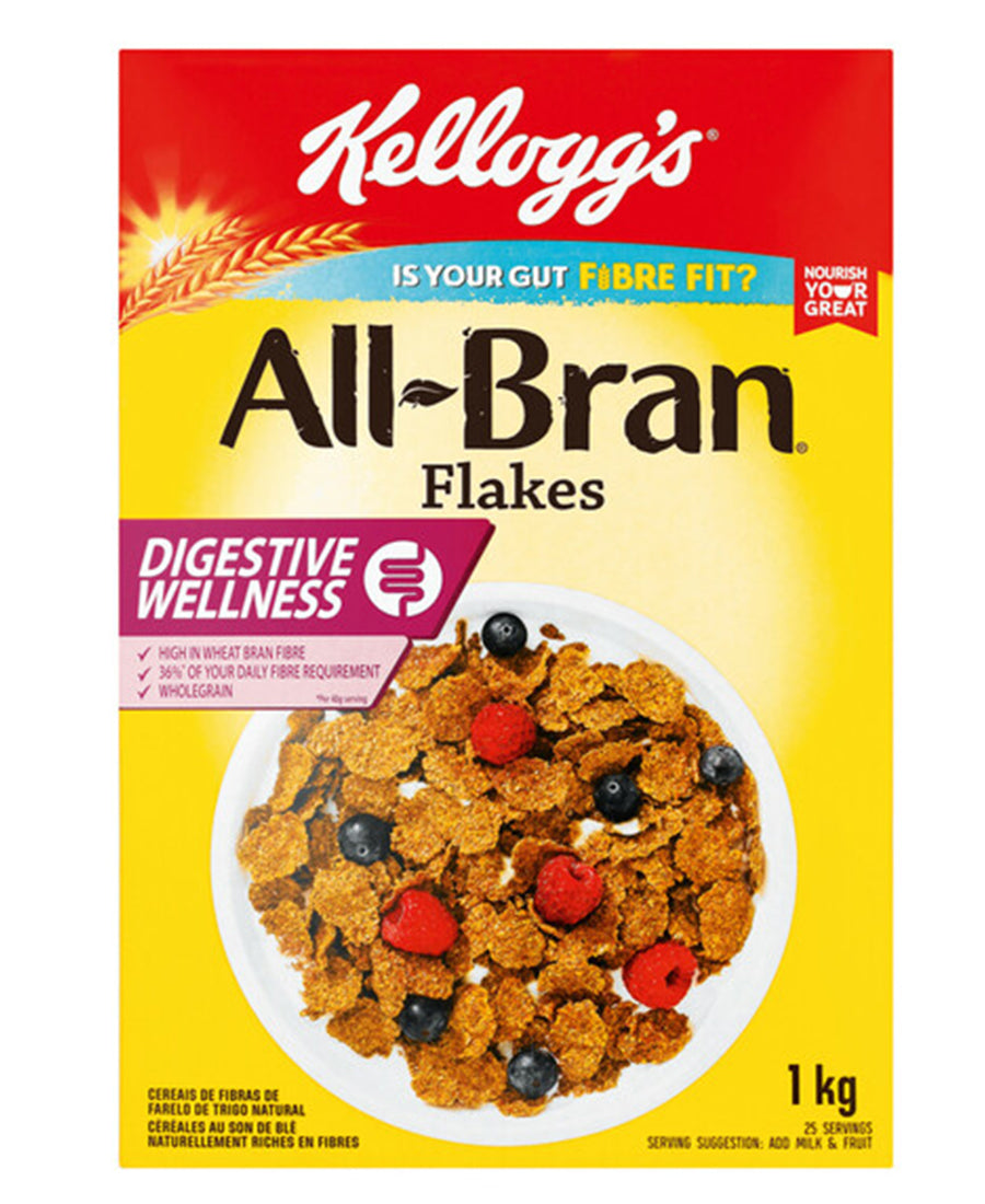 All Bran Flakes 1Kg  - Yellow