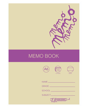 Freedom 72 Pages A6 Memo Book - White