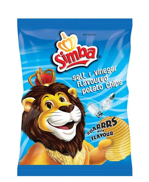 Simba Salt & Vinegar 125g - Green