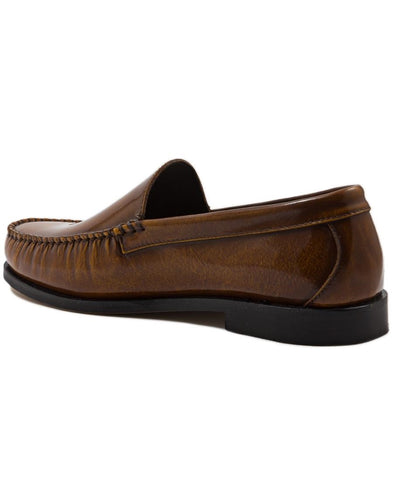 Hi Shine Moccasin - Tan