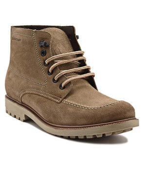 Lace Up Boots - Camel