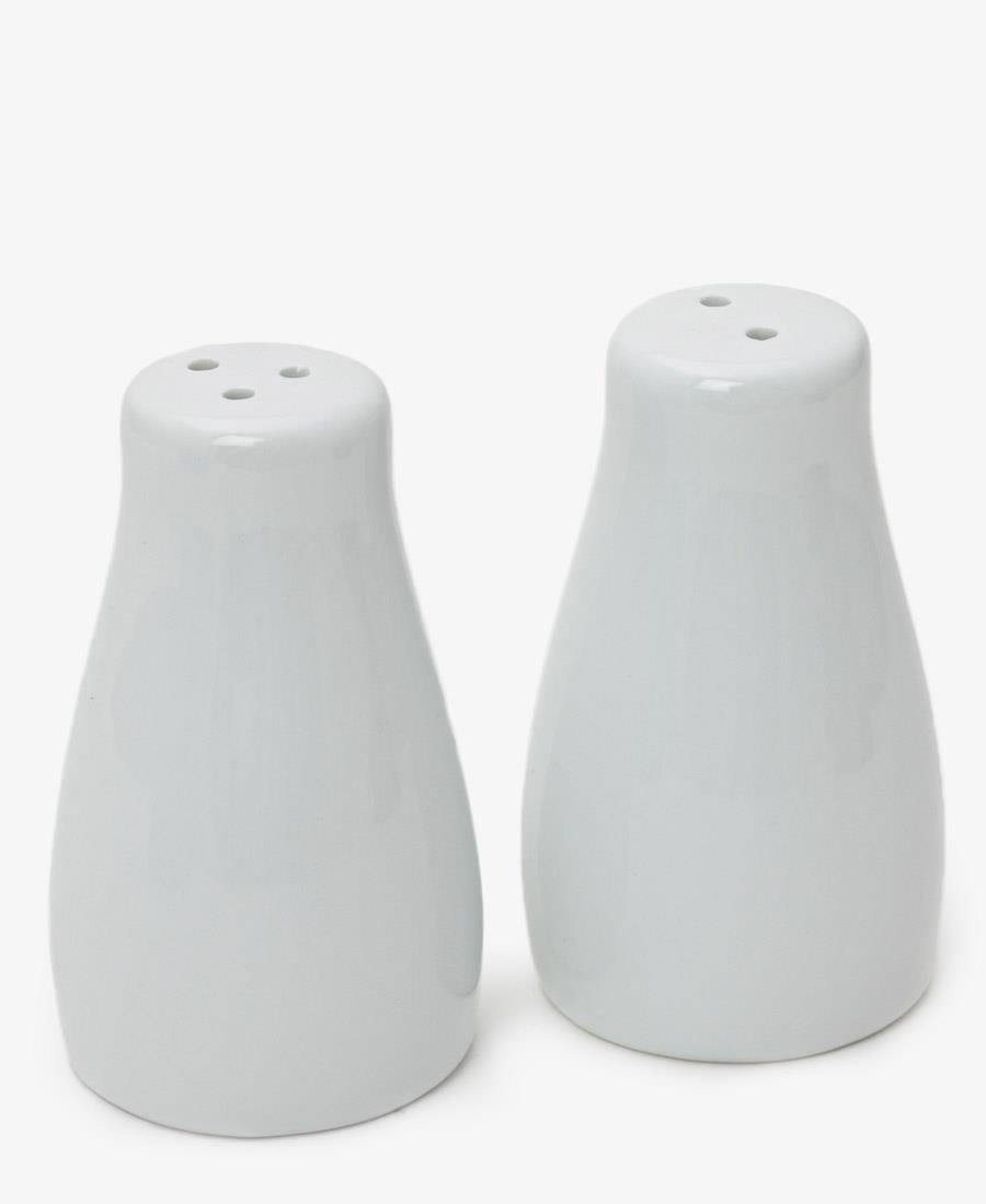 Eetrite Salt & Pepper Shakers - White