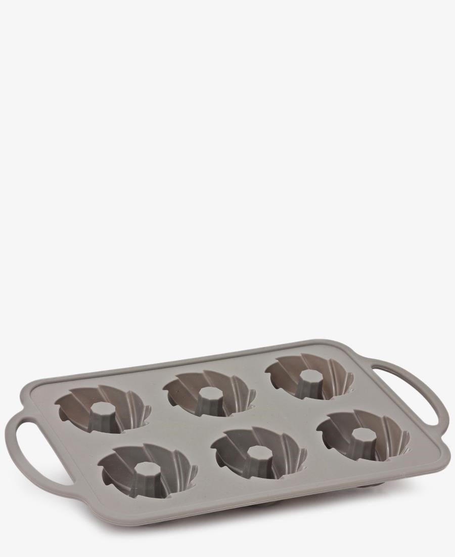 Eetrite 6 Cup Silicone Bundt Pan - Taupe