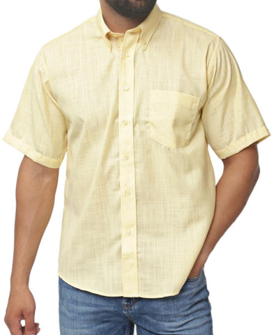 Regular Fit Shirt - Yellow