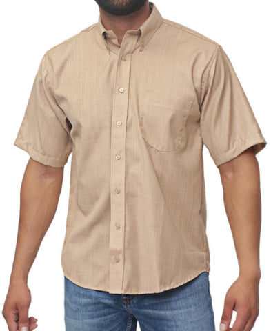Regular Fit Shirt - Beige
