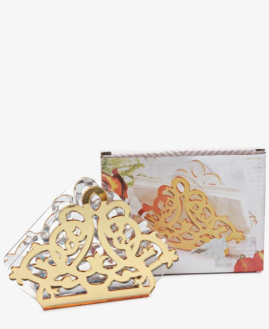 Serviette Holder - Gold