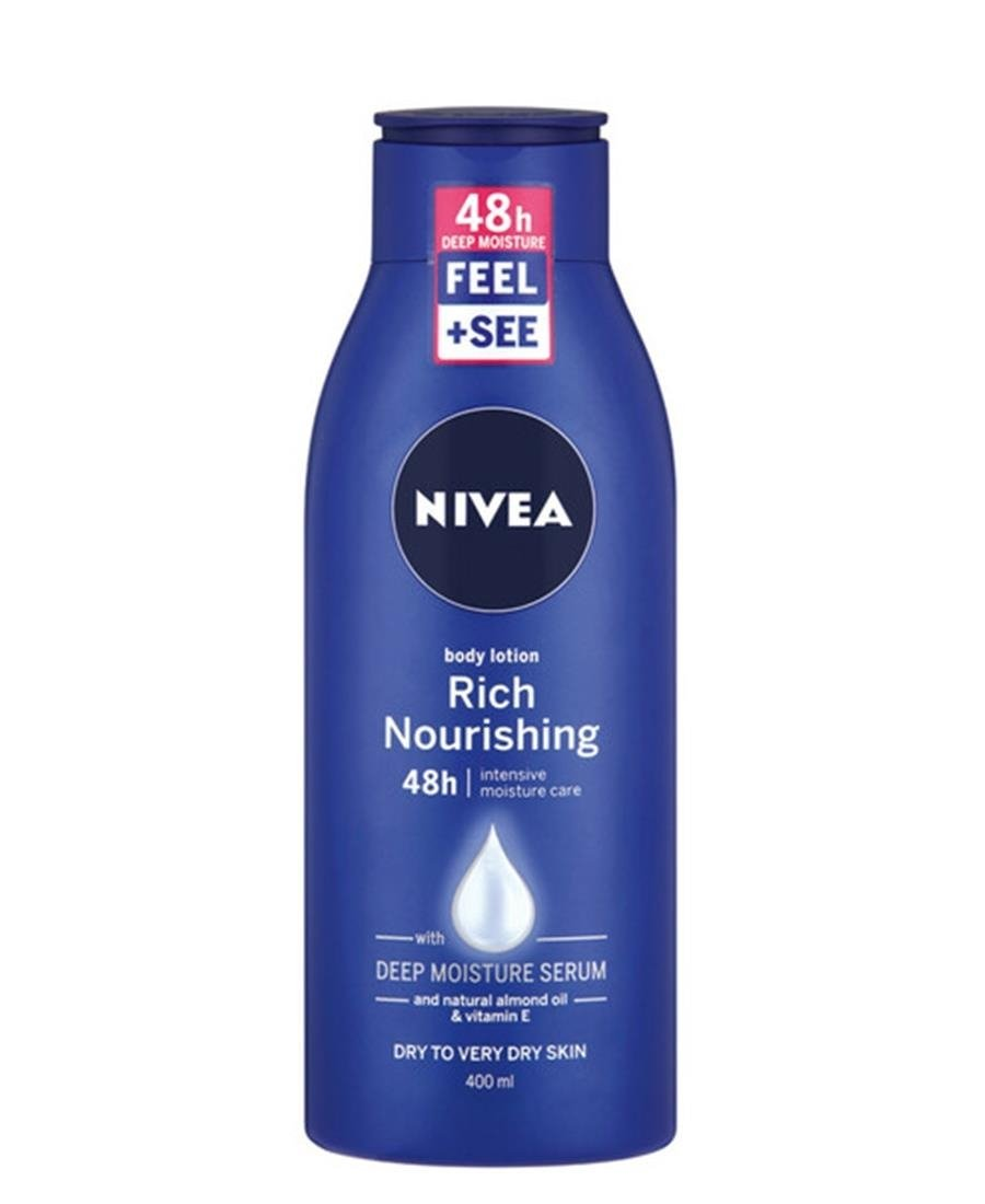 Nivea Body Rich Nourishing Lotion 400ml - Navy