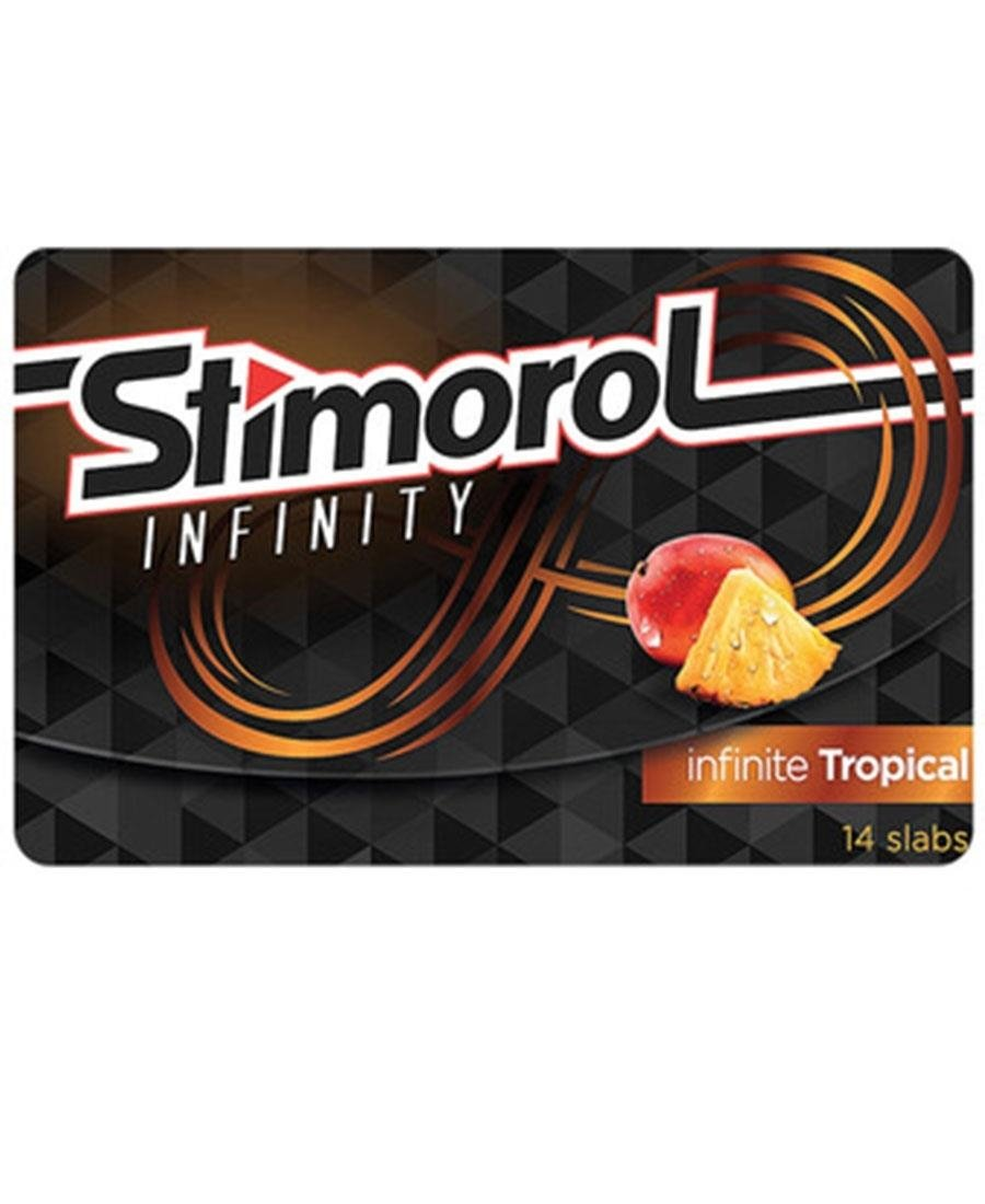 Stimorol Infinite Tropical 14 pieces - Multi