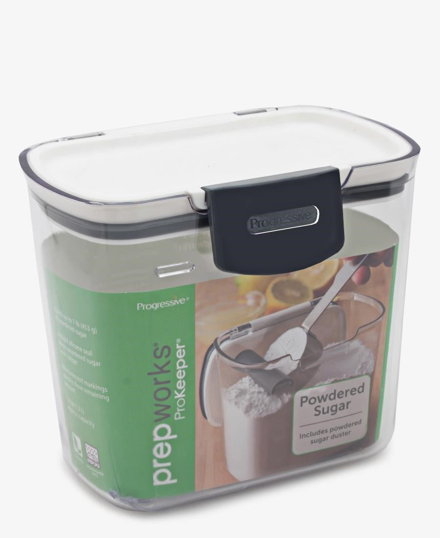 Progressive Powdered Sugar Container - White