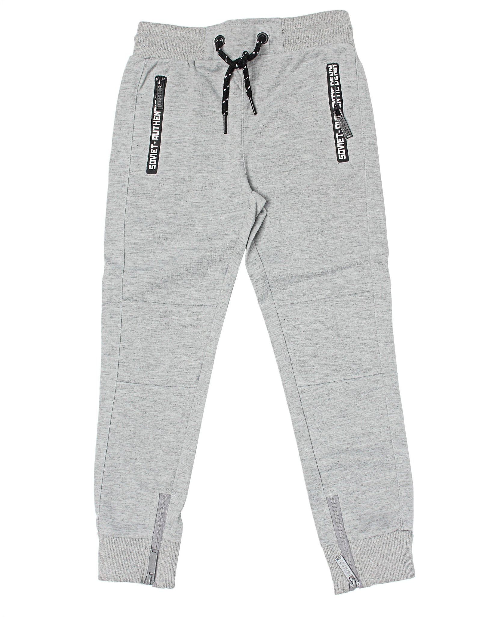 Boys Compton Trackpants - Light Grey