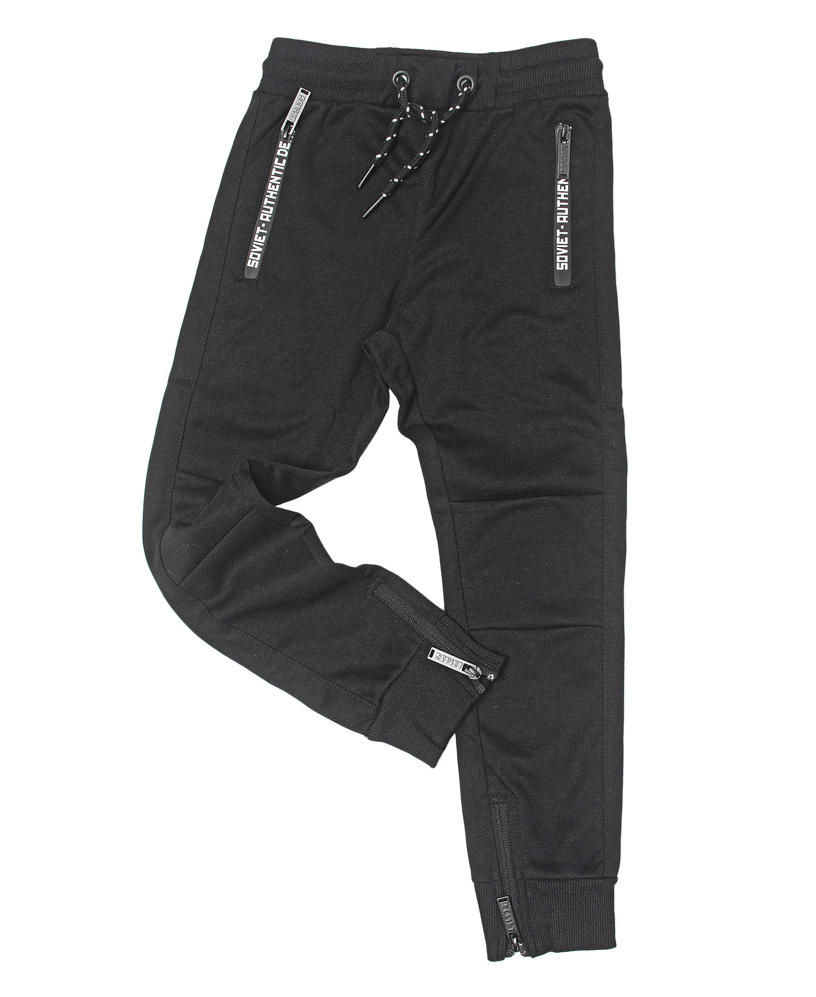Boys Compton Trackpants - Black