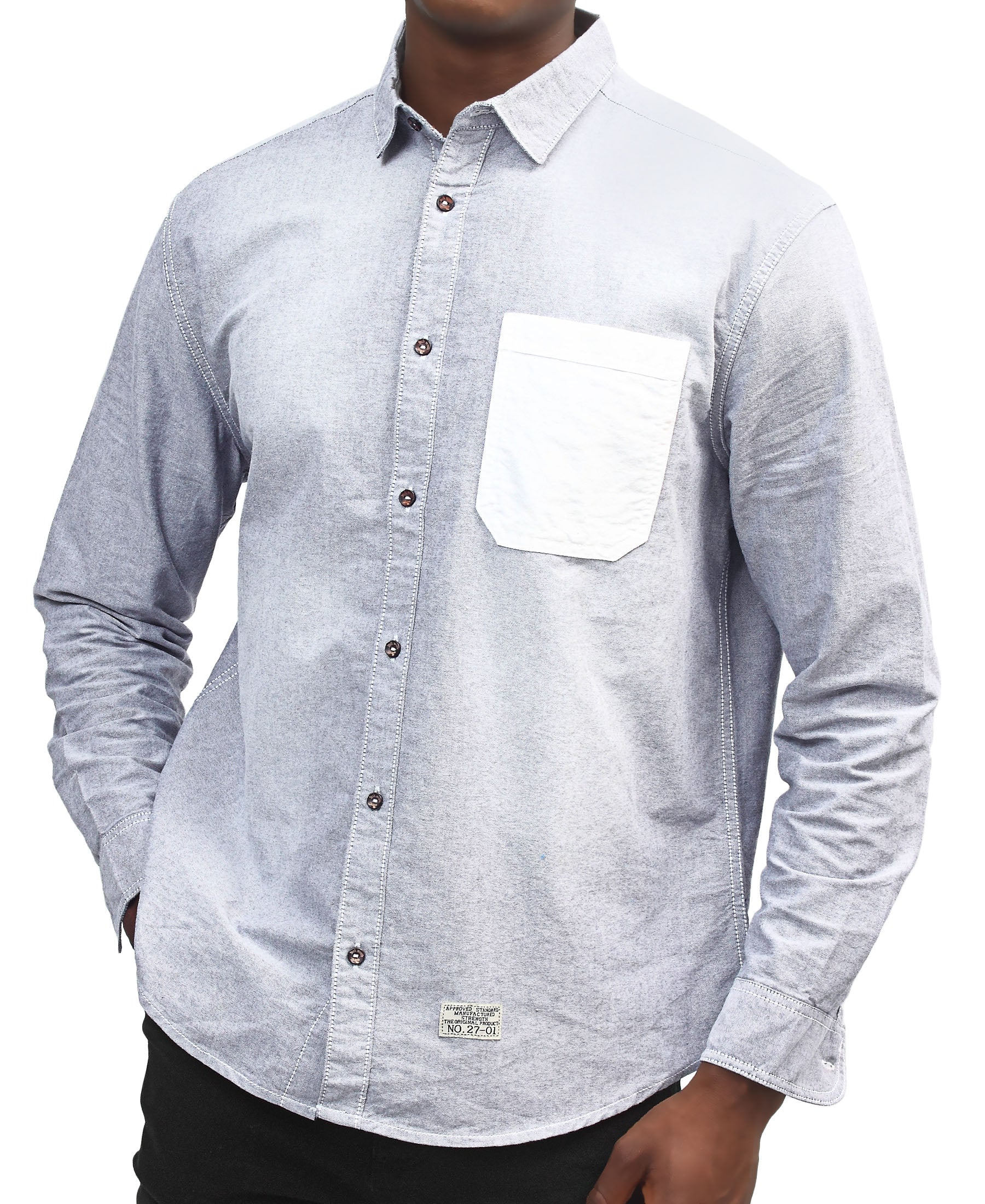 Denim Shirt - Navy