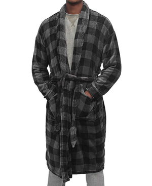Men's Bathrobe - Grey