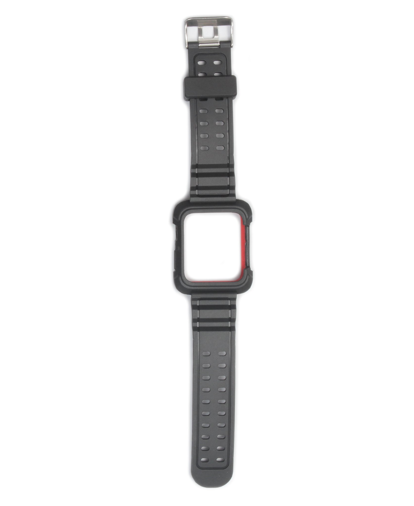 44mm Apple Watch Band With Cover - Red