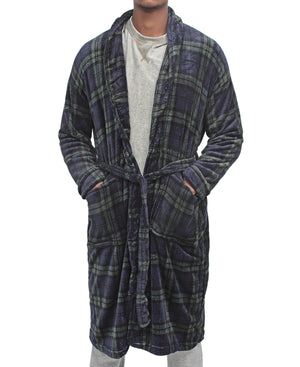 Men's Bathrobe - Green
