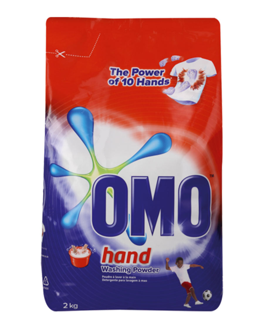 OMO Hand Washing Powder 2kg - Red
