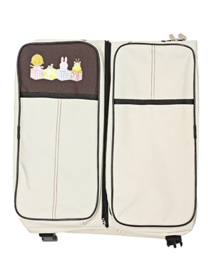 2 In 1 Baby Bag And Bed - Cream