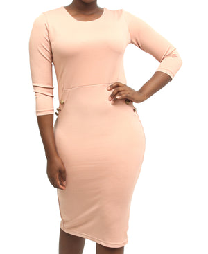Bodycon Dress - Mink