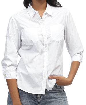 Ladies' Shirt - White