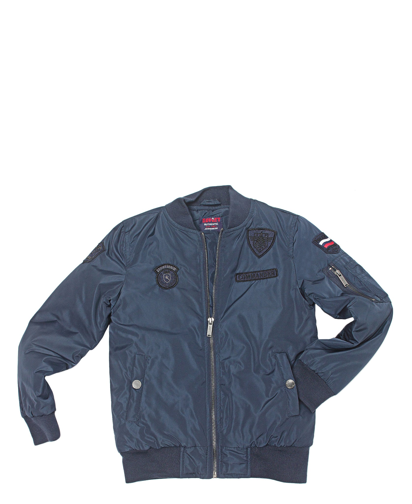 Boys Quito Bomber Jacket - Blue