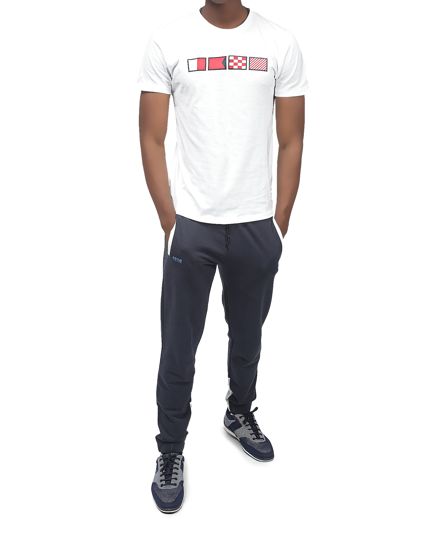 Slim Fit Hugo Boss T-Shirt - White