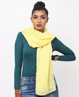 Casual Scarf - Yellow