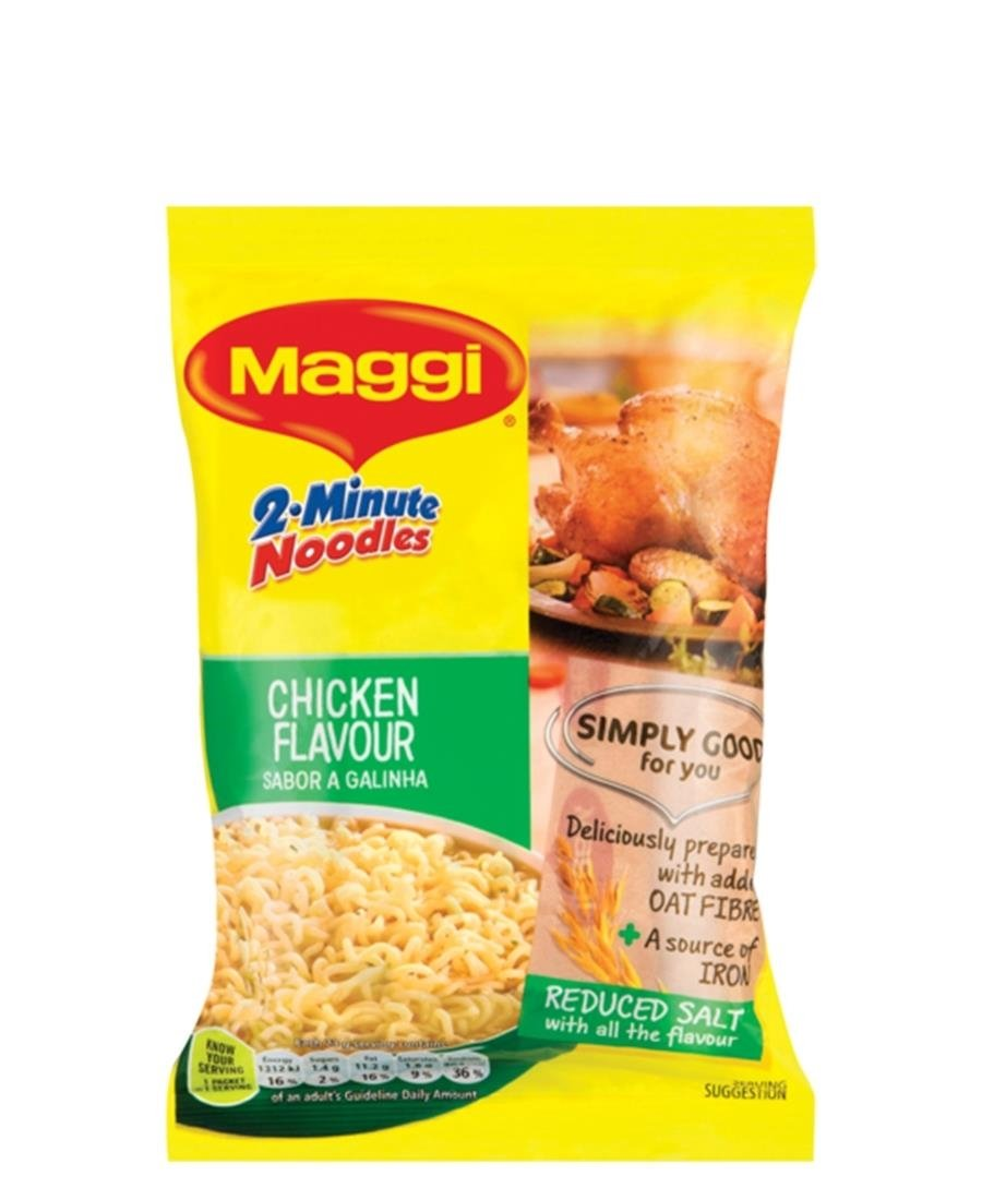 2 Minute Chicken Noodles 73g - Yellow