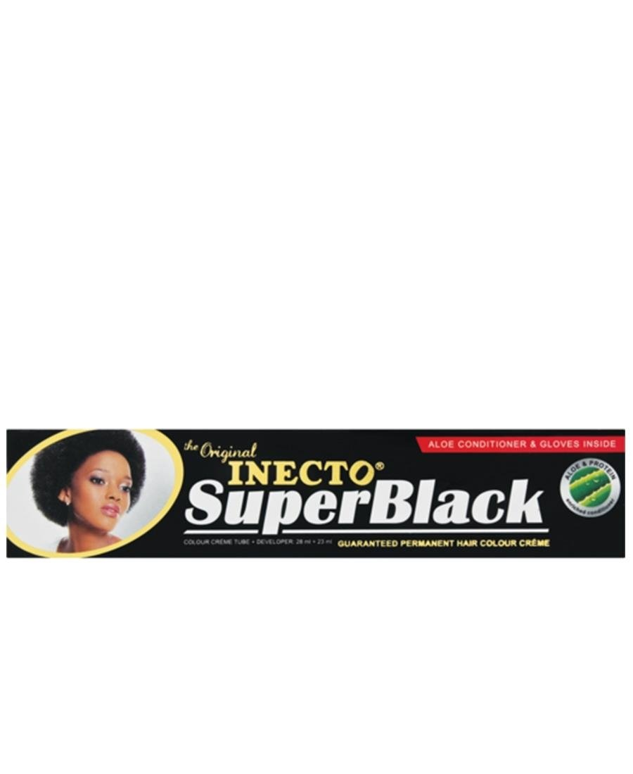 Inecto Super Black 28ml - Black