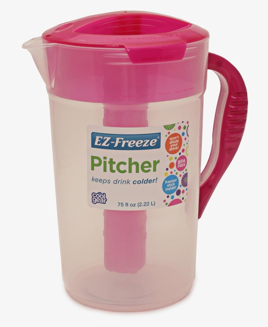 Cool Gear 2.2L EZ Freeze Jug - Pink