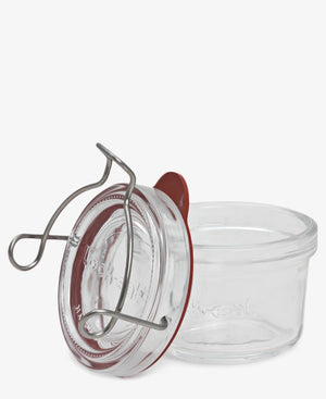 125ml Lock-Eat Food Jar With Lid - Clear
