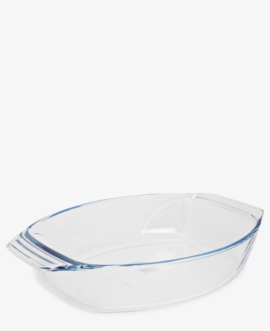 Pyrex 30X21 Oval Roaster - Clear