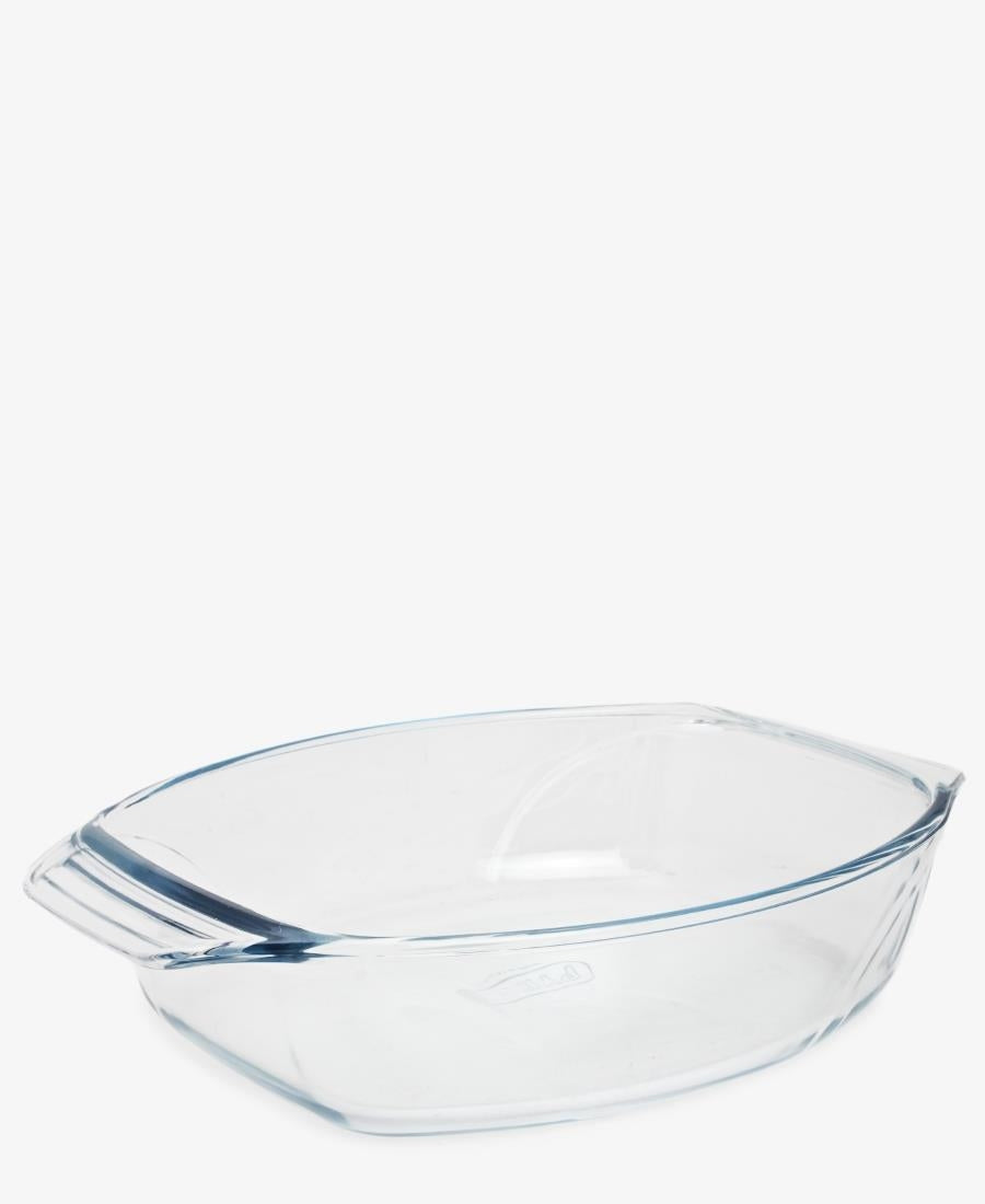 Pyrex 35X24 Oval Roaster - Clear