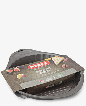 Pyrex Asimetria Tart Pan - Brown
