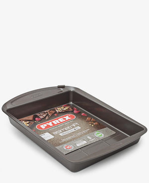 Pyrex Asimetria Brownie Pan - Brown