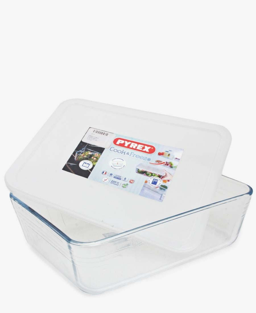 Pyrex 2.6Lt Cook & Freeze With Lid - Clear