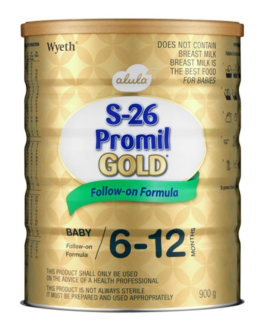S26 Promil Gold No 2 900g - Gold