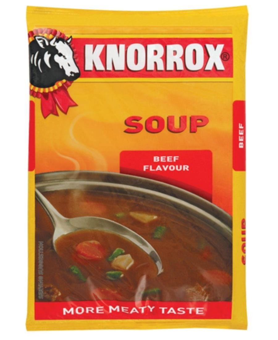 Knorrox Soup Beef 400g - Brown